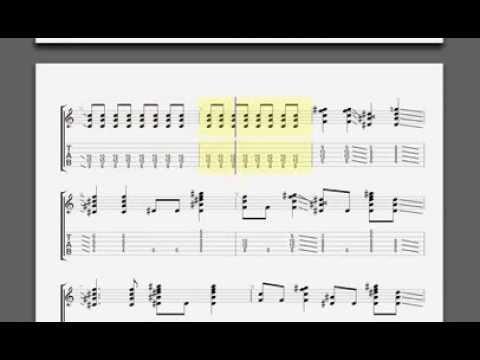 Aerosmith Dream On guitar tab