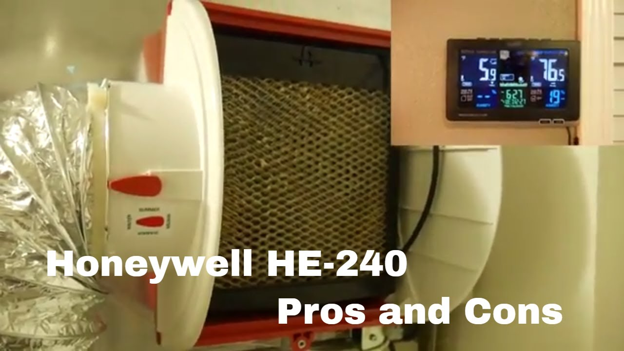 Honeywell Whole House Humidifier He 240 Review Youtube Aprilaire Wiring Diagram