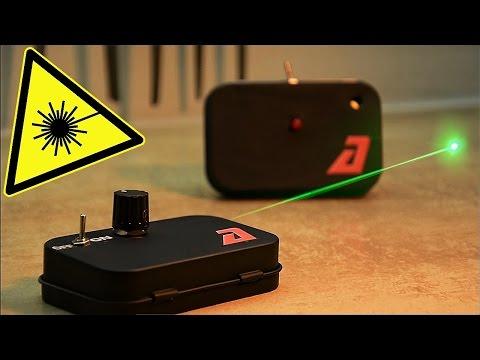 видео: ЭВ#1 Лазерная сигнализация своими руками | Котэ заценил