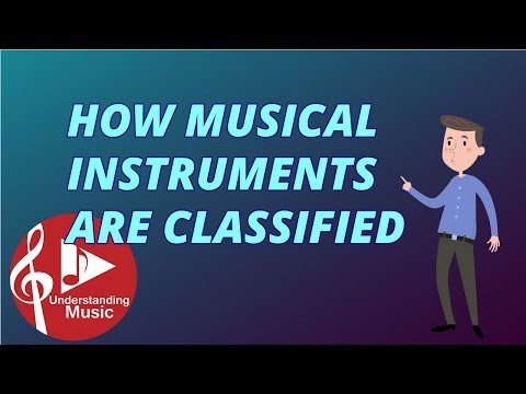 How Musical Instruments are Classified