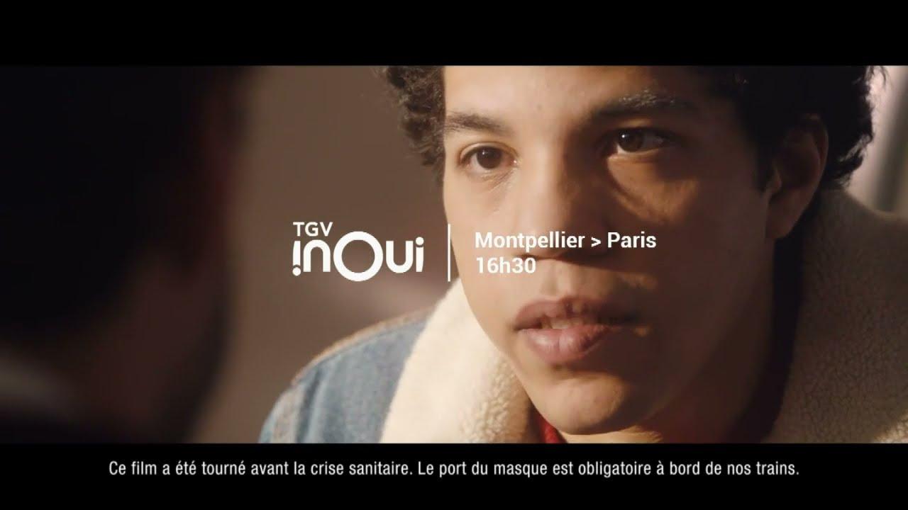 """Musique pub TGV inOui SNCF – Montpellier – Paris 16h30 """"voyagez avec votre temps""""  2021"""