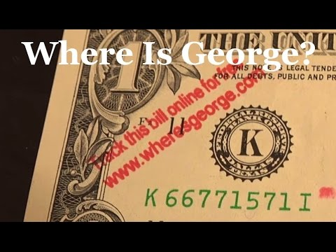 Travel the World from Home- Where is George? | RainyDayDreamers CC