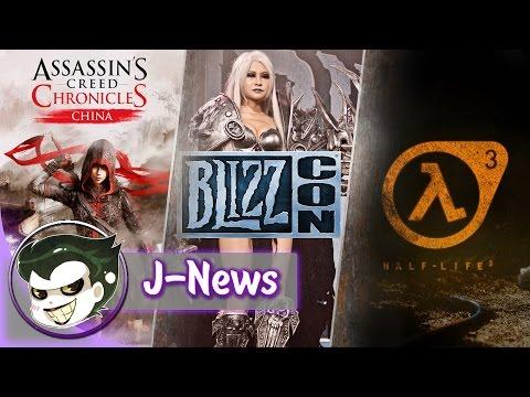 J-News #6: Blizzcon 2014, Half-Life 3, Assassin's Creed Chronicles: China