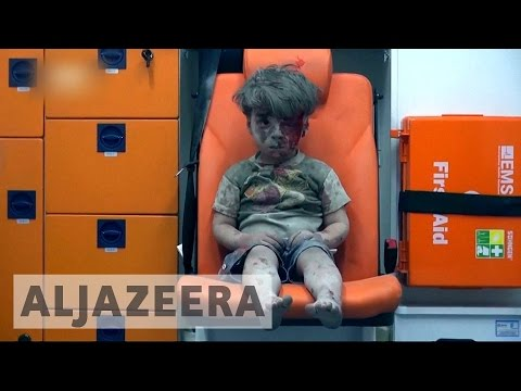 Syria's civil war: Iconic images of suffering