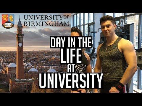 *REALISTIC* DAY IN THE LIFE AT UNIVERSITY | UNIVERSITY OF BIRMINGHAM