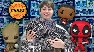 More Black Friday Marvel Funko Pop Mystery Boxes! | My CRAZIEST Luck Ever!