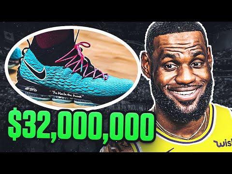 Top 10 BIGGEST Shoe Deals In The NBA