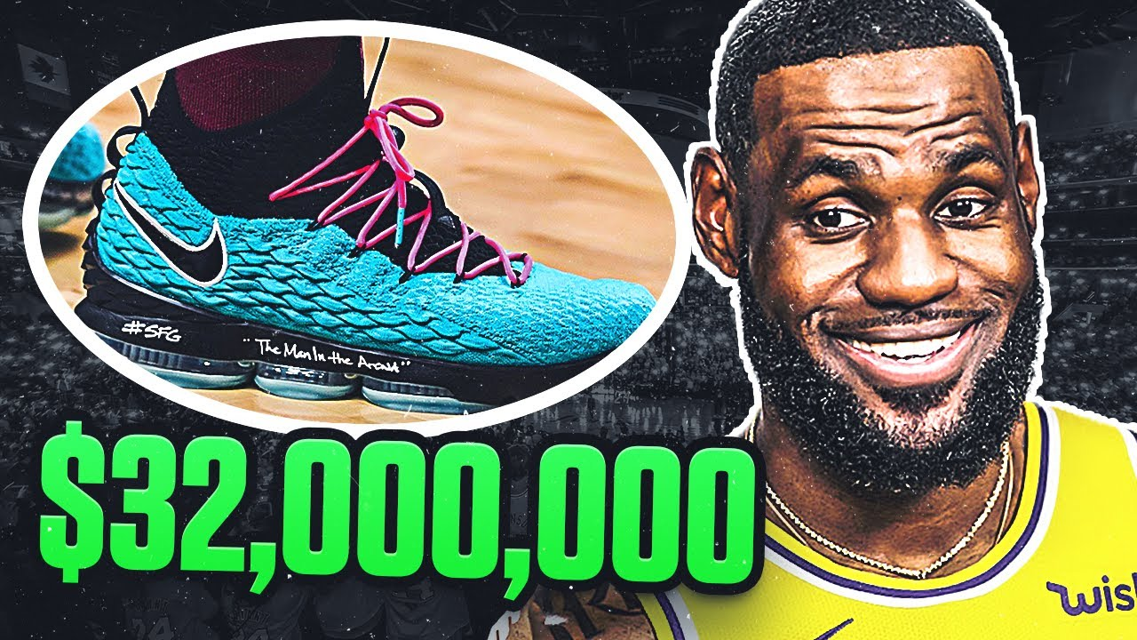 🥵 Icon Sports: Top 10 Biggest Shoe Deals in the NBA!