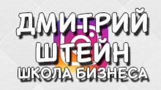 Дмитрий Штейн Школа бизнеса. Заработок в интернете 😀👍