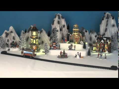 Lemax Christmas Cable Car Set Of 6 Sku 44762 Youtube