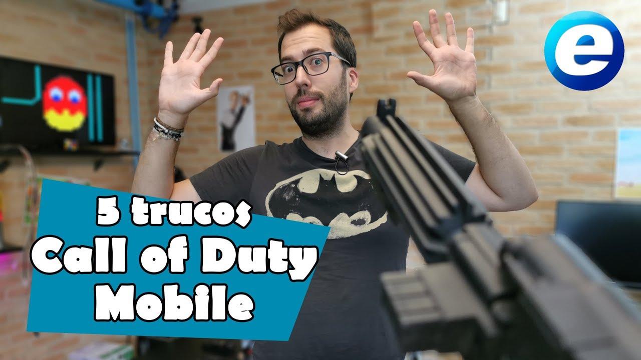 5 trucos para CALL OF DUTY MOBILE
