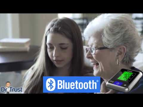 Dr Trust A-one Max Connect Bluetooth Blood Pressure Monitor 105 - How To Use Android And IOS App