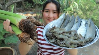 Yummy Taro Soup Cooking Fish - Taro Soup Recipe - Cooking With Sros