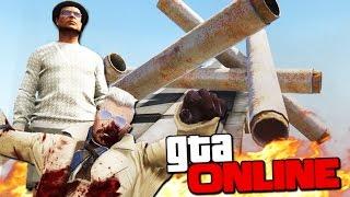 GTA 5 Online (ЭПИК + УГАР) - Скользкий DEATHRUN! #105