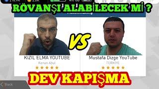 MUSTAFA DİZGE VS KIZIL ELMA DEV KAPIŞMA - PES 2018 MOBİLE TOP AÇILIMI