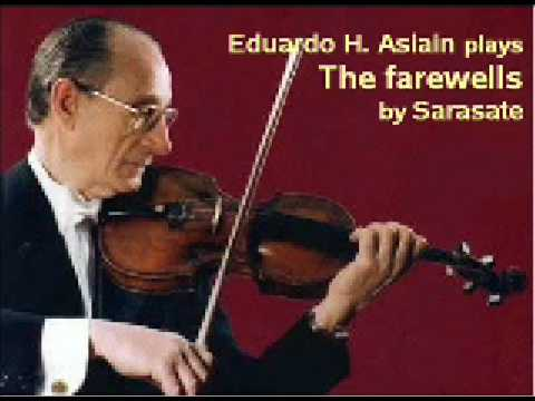 Sarasate - The farewells