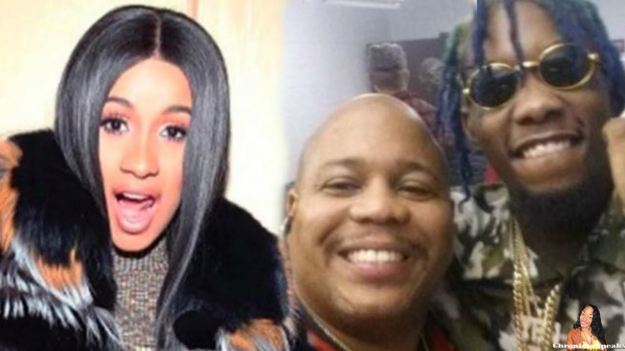 """Offset Dad Calls Cardi B A """"HOT HEADED FEMALE"""" Blames Cardi For Family Issues"""
