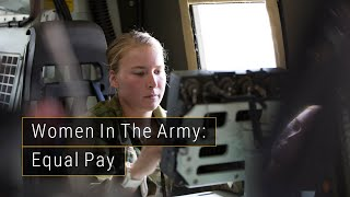 women in the army equal pay