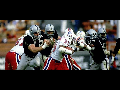 1985 WK 18 AFC Division Playoff New England Patriots (12-5) @ Los Angeles Raiders (12-4)