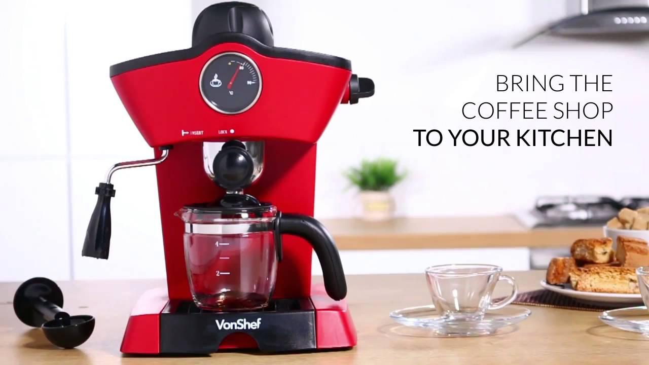 Vonshef 4 Bar Espresso Maker