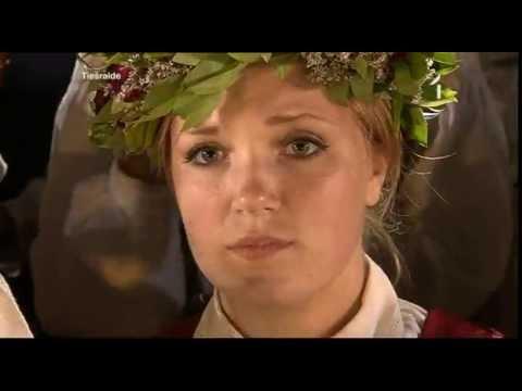 Saule, Pērkons, Daugava - XXV Dziesmu svētku un XV Deju svētku noslēguma koncerts. 07.07.13