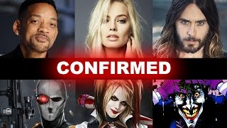 Suicide Squad Movie 2016 - Cast Confirmed! - Beyond The Trailer