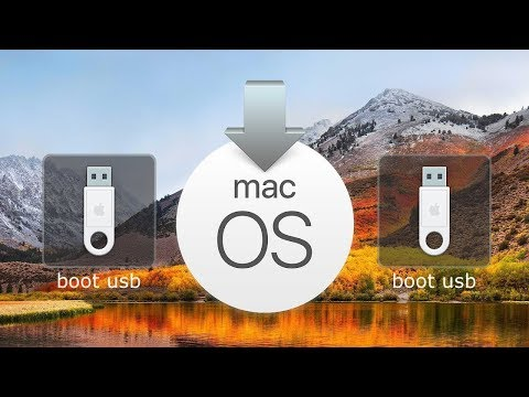 Cómo Crear Un Instalador De Arranque Usb MacOS High Sierra Con La Utilidad De Discos