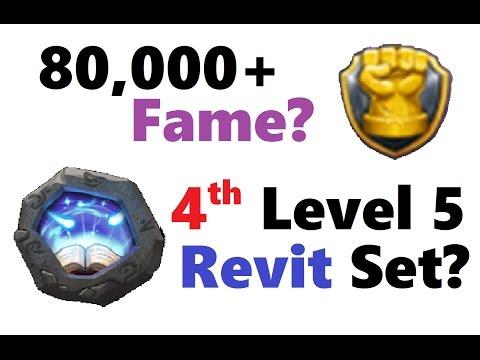 CRAZY Combining 4th REVITALIZE Level 5 CREST Set! Spending 80k+ Fame?!  Castle Clash