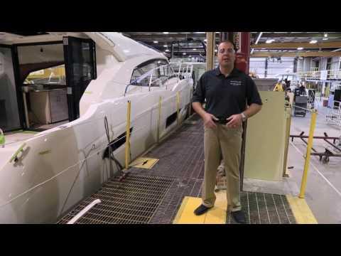 Carver Yachts Shipyard:  Manufacturing Line