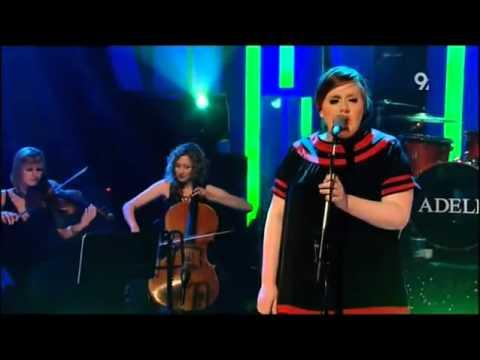 Adele Hometown Glory Live Jools Holland 2008   YouTube