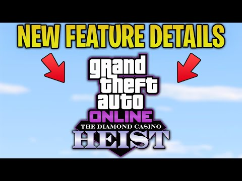 GTA Online NEW CASINO HEIST DLC FEATURE Announced By Rockstar!