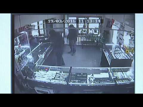 видео: Разбой в ювелирном магазине