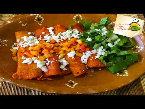 Delicious Enchiladas Mineras Recipe