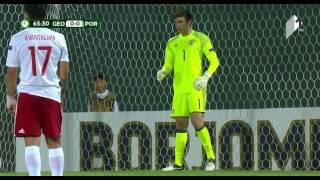Video Gol Pertandingan Georgia U-19 vs Portugal U-19