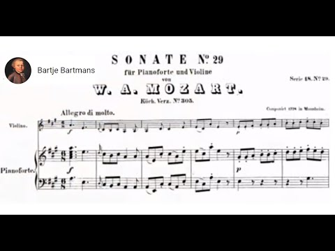 Mozart - Violin Sonata No. 22,  A Major K. 305 [Szeryng/Haebler]