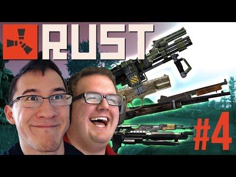 WE GOT GUNS!! | Rust Gameplay #4