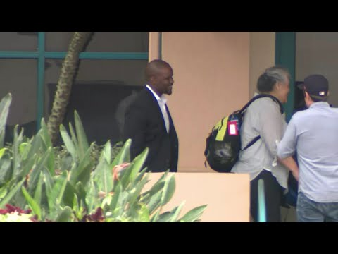 WEB EXTRA: Brian Flores Arrives At Dolphins Training Facility