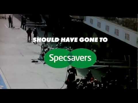 Should Have Gone To Specsavers - The Jenson Button Chinese GP F1 Parody