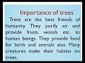 Importance Of Trees Essay In English By Smile Please Kids