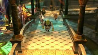 Shrek 4 Forever After Video Game - Console Vignette
