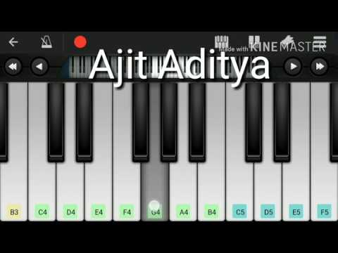 Wajah Tum Ho Title Song Tulsi Kumar, Mithoon. Mobile Perfect Piano Tutorial