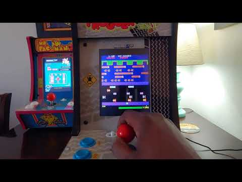 Arcade 1Up Frogger Countercade (QVC Exclusive) Review. from Footie Laughs