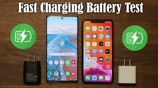 Galaxy Note 10 Plus vs iPhone 11 Pro - Battery Charging Speed Test