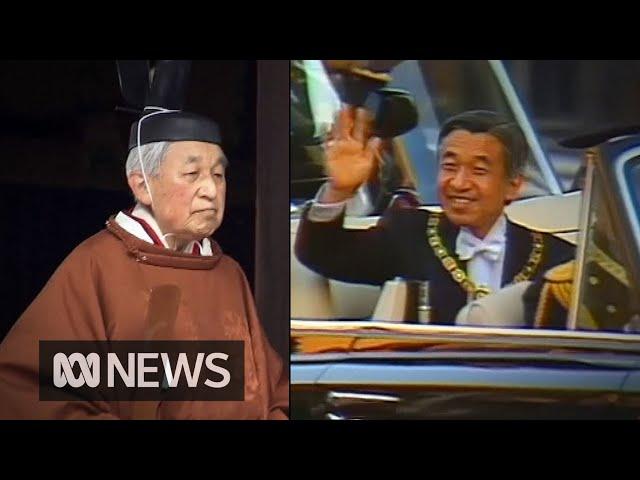 Japans Emperor Akihito abdicates   ABC News