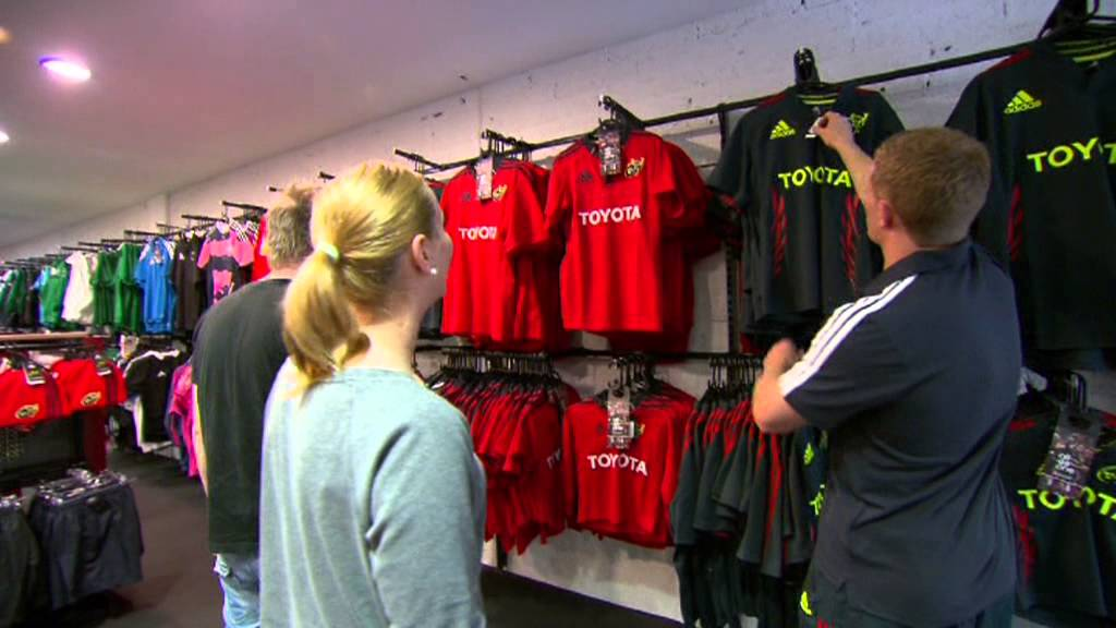 43eab88fa3c95 adidas - Munster Rugby - 3 New Staff Start Work in Elverys Sports,  Crescent, Limerick - YouTube