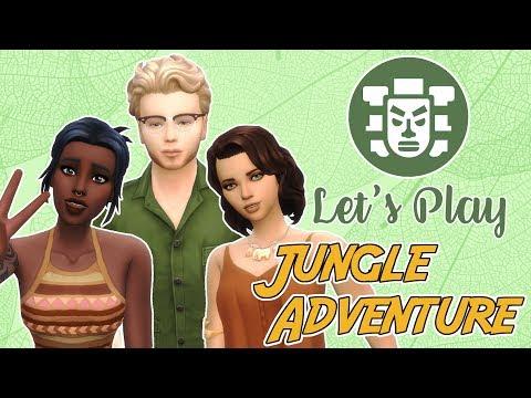 SCREENSHOTS || The Sims 4 || Jungle Adventure |