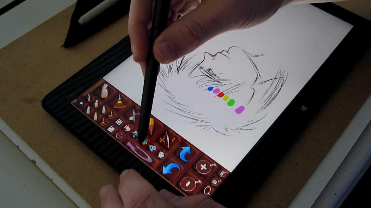 Paint Tool Sai Review Youtube