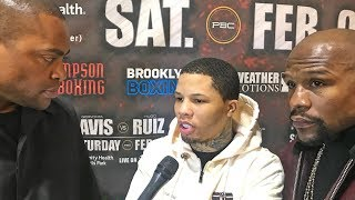 Gervonta Davis After 1ST RD KNOCKOUT WIN! vs Hugo Ruiz