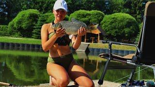 ЗАДУБИНИЛАСЬ НА ФІДЕР! КАРПИ ОЗВІРІЛИ! Риболовля на донні снасті #105