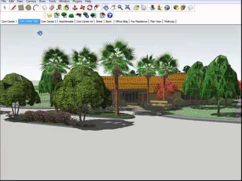 The SketchUp Connection Process between AutoCAD and SketchUp for